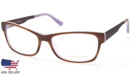 NEW PRODESIGN DENMARK 1728 c.5014 BROWN EYEGLASSES FRAME 55-16-140 B35mm... - $78.20
