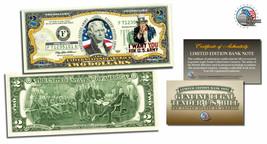 USA ARMY World War II U.S. Legal Tender $2 Dollar Bill Certified Mint - $18.50
