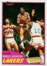 LOT of 25 REPRINT 1981 Topps #21 Magic Johnson LA Lakers 2nd Card - $9.50
