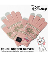 Disney The Aristocats Marie Women Smartphone compatible Gloves Free acry... - $62.37