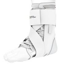 Shock Doctor Ultra Wrap Lace Ankle Support White, Medium, 8.5–9
