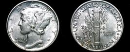 1941-D Mercury Dime Silver - $12.99