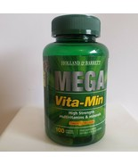 Holland & Barrett  Mega Vita-Min High Strength  Multivitamins 100 COATED... - $24.69