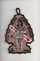 2008 Lodge 404 Ti'Ak Indian Events Seminar OA patch - $5.94