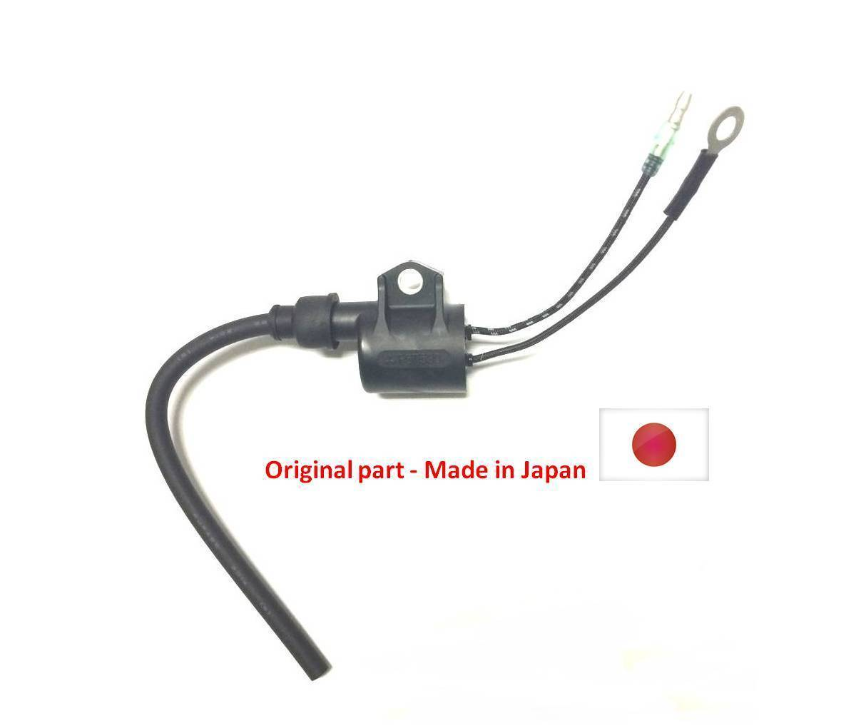 6F6-85530-01 IGNITION COIL ASSY fit Yamaha Outboard Engine E EK 40J 40G 40HP 2T