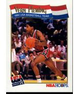 1991-92 Hoops #558 Vern Fleming NM-MT USA - $0.99