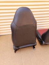 00-05 Toyota MR2 Spyder Seats L&R Reupholstered W/ Tracks image 10