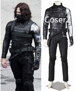 Captain America The Winter Soldier Cosplay Costume - $189.00