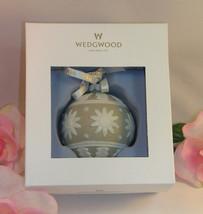 New Wedgwood White & Tan Jasperware Neo Classical  Christmas Tree Orname... - $32.19