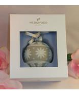 New Wedgwood White & Tan Jasperware Neo Classical  Christmas Tree Orname... - $34.99
