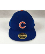 Chicago Cubs Hat Size 6 7/8 New Era 59Fifty Fitted On-Field Cap - $25.00