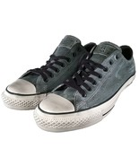 Converse by John Varvatos Chuck Taylor Ox Oxford Pebbled Leather Grey 15... - $70.00