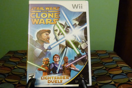 Star Wars: The Clone Wars - Lightsaber Duels (Nintendo Wii, 2008) NM Wit... - $7.91