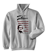 POE EDGAR ALLAN THE RAVEN - NEW COTTON GREY HOODIE - $40.68