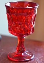 SET 9 NORITAKE PERSPECTIVE RUBY RED GLASS GOBLETS VINTAGE WINE GLASSES  ... - $99.99