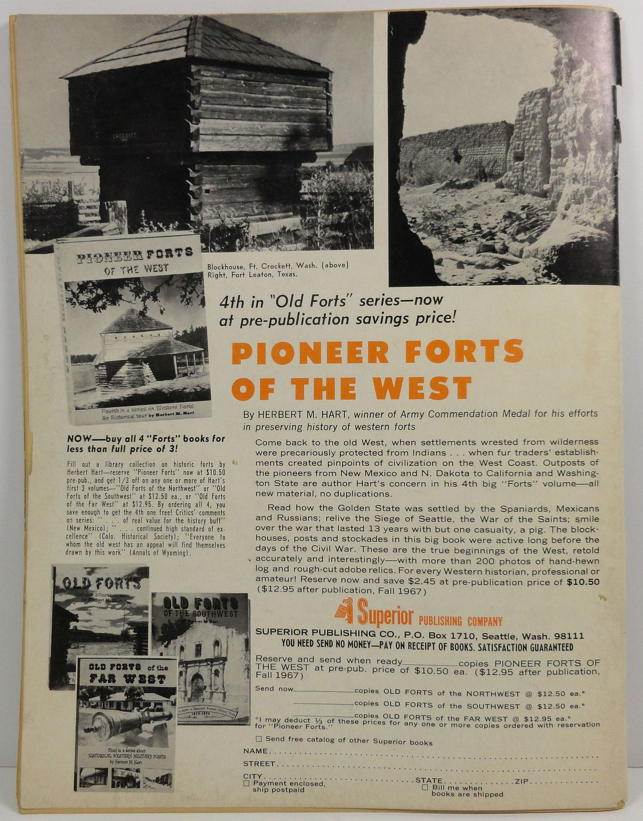 Frontier Times Magazine May 1967