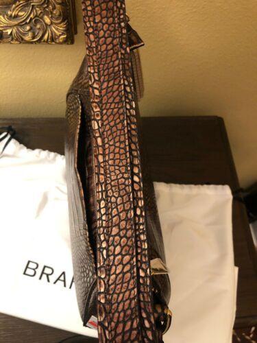 BRAHMIN AMIRA SHOULDER BAG BROWN MILAN  STUNNING COLOR NWT P30108800032 image 6