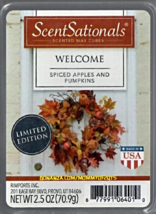 Welcome ScentSationals Scented Wax Cubes Tarts Melts Home Potpourri - $3.50