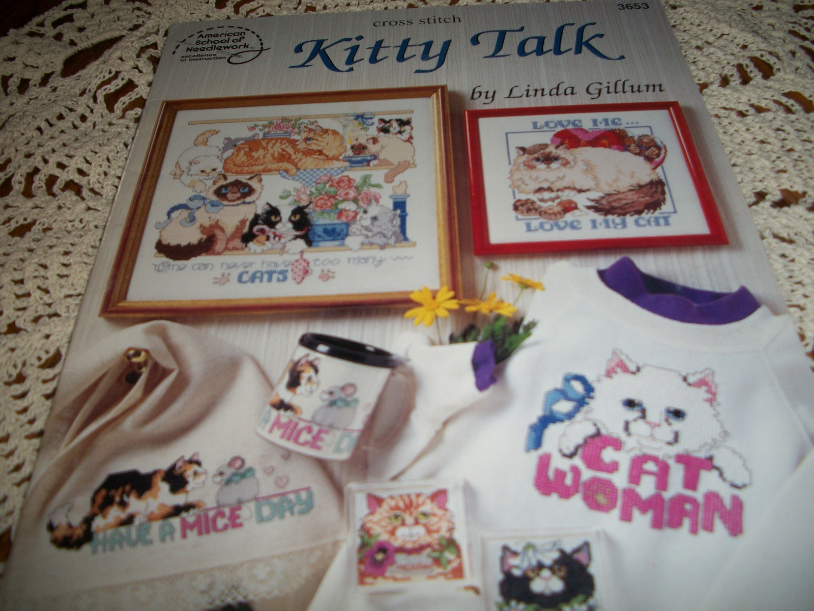 Primary image for Cross Stitch Kitty Talk 3653