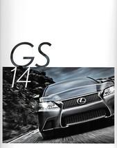 2014 Lexus GS 350 450h HYBRID brochure catalog 14 US F SPORT - $8.00
