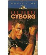 Cyborg VHS Jean-Claude Van Damme - $1.99