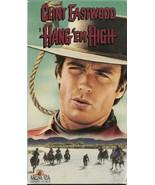 Hang 'em High VHS Clint Eastwood - $1.99