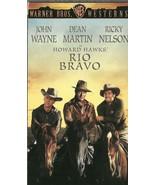 Rio Bravo VHS John Wayne Dean Martin Ricky Nelson Angie Dickinson - $1.99
