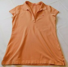 American Eagles Outfitters womens juniors S Petite short sleeve polo shi... - $13.36
