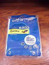 Pack of 3 Eureka Upright J Style Vacuum Cleaner Bags, made by Sears - $6.95