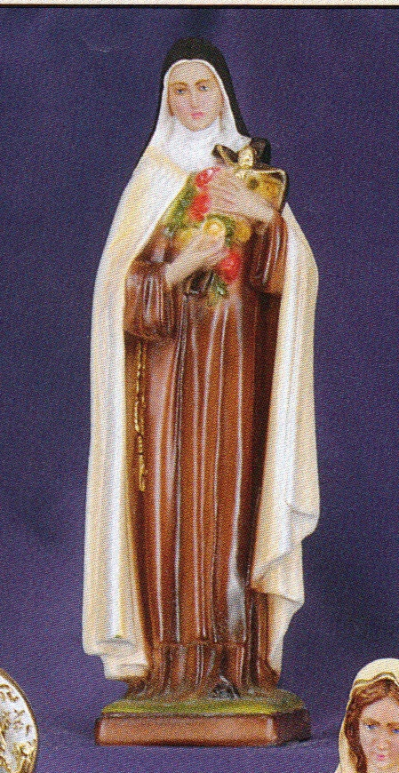 St. theresa 12 inch statue