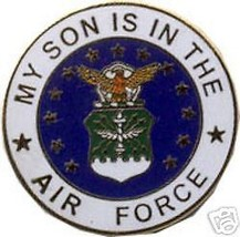Usaf My Son Is In The Air Force Lapel Pin - $13.53