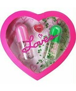 Dana Love 2 Piece Body Mist and Lip Gloss NEW in gift box. - $39.59