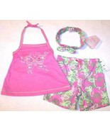 NWT Nannette Girl's 3 Pc. Butterfly Play Set Ou... - $5.99
