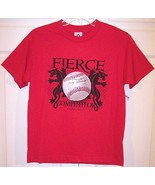 "NWT Boy's ""Fierce Competitor"" SS Red Baseball T... - $9.99"