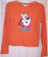 NWT Self Esteem Girl's Kellogg's Tony the Tiger They're Great! LS Orange... - $12.99