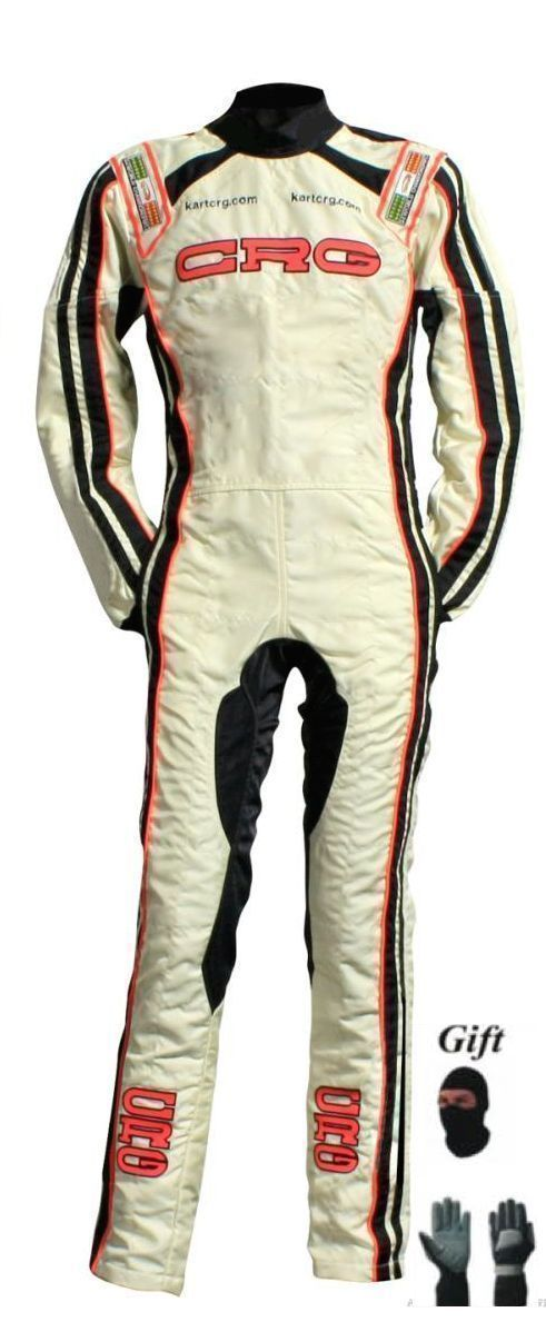 CRG 2015 Go Kart Race Suit CIK FIA Level2 with free gift Gloves & balaclava