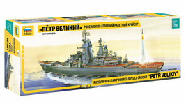 Zvezda 9017 - Russian nuclear powered missile cruiser Petr Velikiy Scale... - $99.00