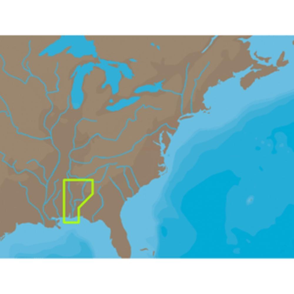 C-MAP NT+ NA-C045 - Black Warrior & Lower Tombigbee Rivers - C-Card