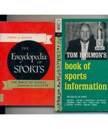 Sports Encyclopedia & Quizzes--2 pbs from '50s/'60s--470 pgs - $7.00