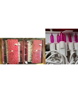 100 Pink-Valentines Day Party Lights String Bright Mini-White Wedding-2p... - $22.74