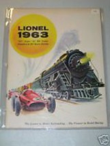 1963 LIONEL CATALOG MINT - $11.99