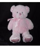 "14"" PINK GUND MY 1ST FIRST TEDDY BEAR MEDIUM 021029 STUFFED ANIMAL PLUSH... - $19.65"