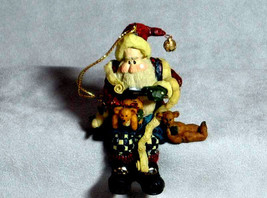 """Boyds Carvers Choice Ornament """"Santa..And The Final Inspection"""" -#370203... - $11.99"""