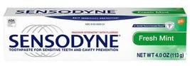 SENSODYNE Original Sensitivity Toothpaste 10 Packages x 10 Fresh Mint - $84.15