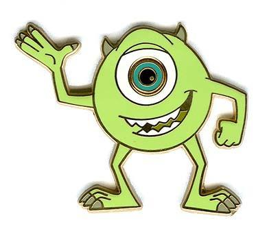 Disney Mike One Eye Monsters Inc Pin Pins And 50 Similar Items