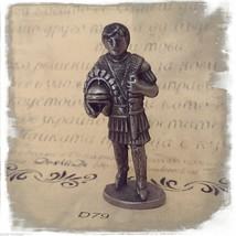 Knight Helmet Sword Iron Kinder Surprise Metal Soldier Figurine Vintage ... - $9.36