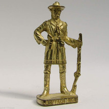 Bufalo Bill Kinder Surprise Metal Soldier Figurine Vintage Toy 4cm High - $9.36