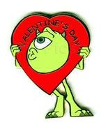 Disney Monster's Inc - Mike Valentine's Day pin/pins - $25.00