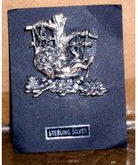 Disney Lion King Sterling Silver Broach rare Pin/pins - $40.00