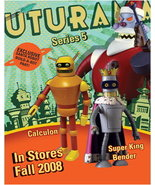 Futurama Series 5 Bender Calculon build A Bot MakeOffer - $135.00
